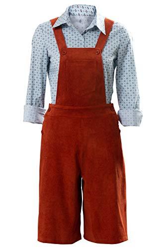 RedJade His Dark Materials-Lyra Suit Traje de Cosplay Disfraz Mujeres XS