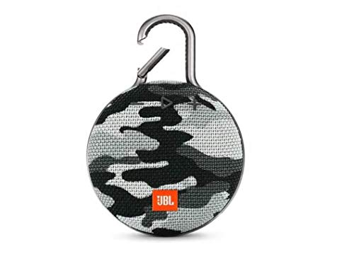 JBL Clip 3 Portable Waterproof Wireless Bluetooth Speaker - Black Camo