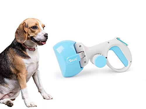 BXWBH 2 en 1 Pet Dog Pooper Scooper, Juego de Pala para