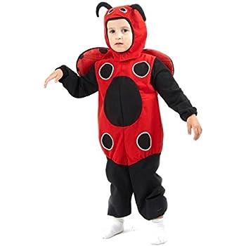 Disfraz de mariquita para niño o niña: Amazon.es: Juguetes y juegos