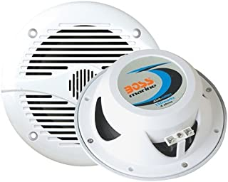 BOSS Audio Systems MR60W 200 Watt Per Pair, 6.5 Inch, Full Range, 2 Way Weatherproof Marine Speakers Sold in Pairs