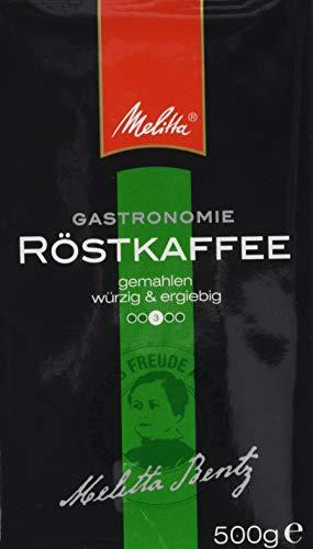 Melitta Röstkaffee, Gemahlener Filterkaffee, Würzig mit schokoladiger Note, Mittlerer Röstgrad, 2 x 500 g