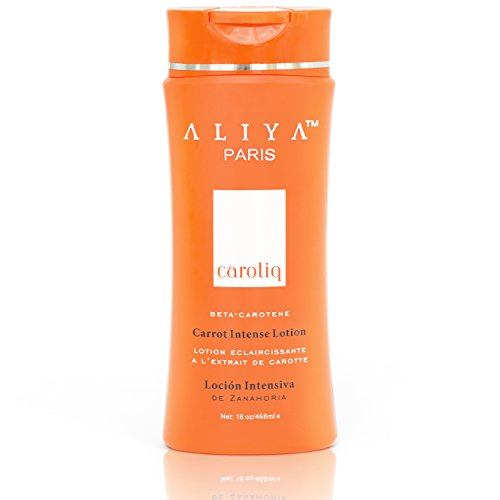 Aliya Paris Carotiq Carrot Intense Lightening Lotion Anti-aging - 16oz by Aliya Paris