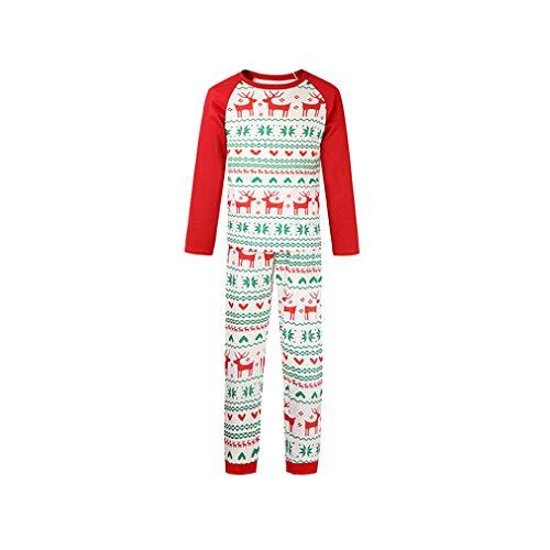 WEIMEITE Familie Weihnachten Pyjama Familie Passende Kleidung Neujahr X-Mas Pjs Familie Aussehen Mutter Und Tochter Vater Baby Kleidung Papa M