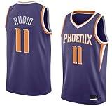 K&A Camiseta Ricky Rubio Phoenix Suns Morado, Camiseta Ricky Rubio Phoenix Suns Icon Edición Swingman para Hombre & Niño (Morado, Hombre S)
