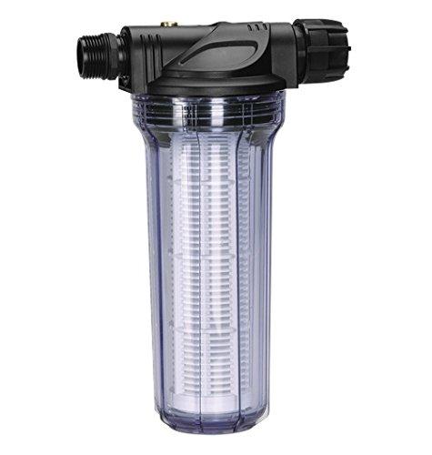 Garden G1730-20 voorfilter voor pomp, filterinzet is gemakkelijk uit te nemen en eenvoudig uit te wassen bis zu 6000 l/h standaard
