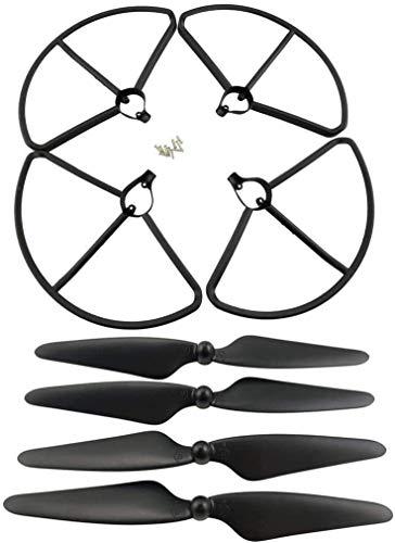 ZYGY Per 4 PZ Propeller Protector 4PCS Elica per Hubsan H501S H501A H501C H501M H501S W H501S pro Quadrotor RC Drone accessori, Nero