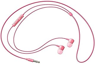 Samsung HS-1303 In-Ear Headphones with Built-In Remote Control and In-Line Microphone - Pink