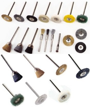 24 Parts Cleaning Rotary Tool Wire Brushes for Dremel -- Best Seller on Amazon!