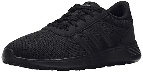 adidas Lite Racer Running Shoe, Black/Black/Grey, 11 M US