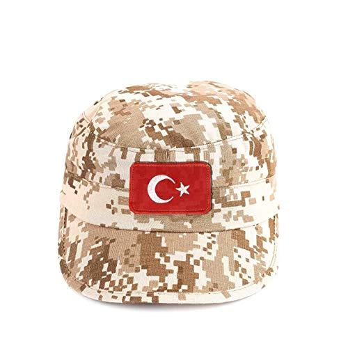 ÜLKÜCÜ Market Mütze Feldmütze Armycap Camouflage Army Cap Militär Mütze Schirmmütze Baseballcap Kappe Größe L-XL