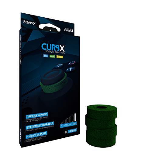 GAIMX CURBX Motion Control – Zielhilfe und Stoßdämpfer für Thumbstick – Aim Verbesserung für Playstation 4 (PS4) und Xbox One, sowie Xbox 360 (Stärke 230)