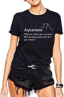 Camiseta Aquariana Signo