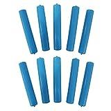 再利用可能なアイスキューブスティック10本。冷凍可能なウォーターボトル冷却ロッド(10本)。