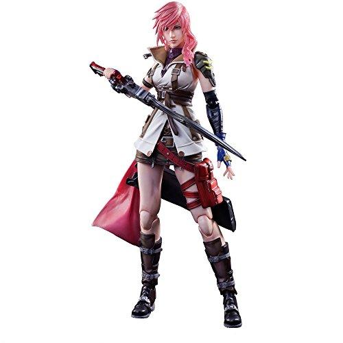 Dissidia Final Fantasy Play Arts Kai Action Figure Lightning 25 cm Square Enix