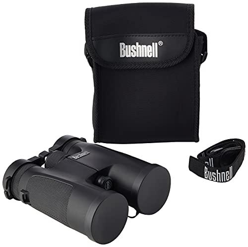 Bushnell - Powerview - 10x42 - Black - Roof Prism - Rugged Design - Binocular - 141042