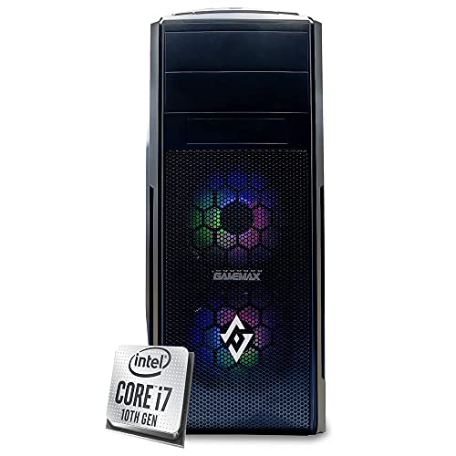 INVENTIVE K700 - Pc desktop intel i7 10700K fino 5.1Ghz 8 Core,Ram 16 Gb Ddr4,Ssd 256 Gb NVMe, Hdd 1 TB, UHD 630,Windows 10 Professional, Pc fisso