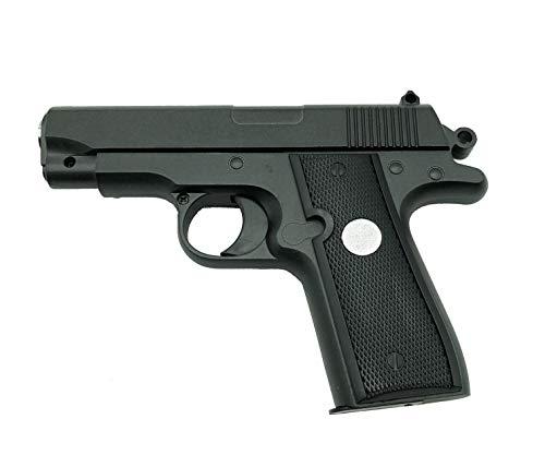 Rayline G2 Voll Metall Mini Pocket Softair (Manuell Federdruck), Maßstab 1:1,8, Gewicht 323g, 6mm Kaliber, Farbe: Schwarz