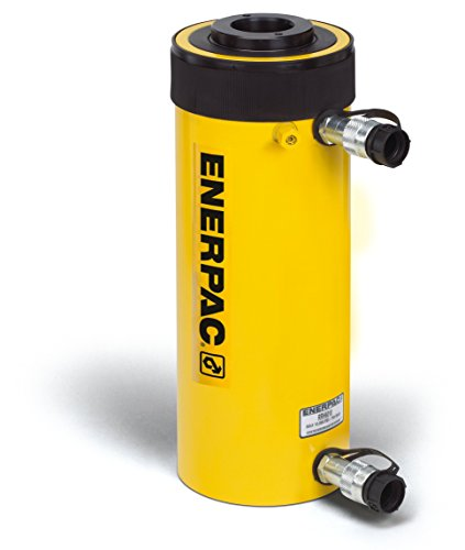 Enerpac RRH-307 Double-Acting Hollow-Plunger Hydraulic Cylinder with 30 Ton Capacity, Double Port, 7.00