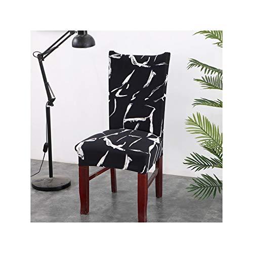 Cheryl Norri Drucken Flexible Stretch Spandex-Stuhl-Abdeckung für Restaurant Hochzeiten Banketthotel Elastic-Stuhl-Abdeckung, Colour18, Universalgröße