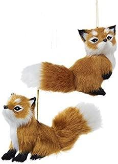 fox christmas tree