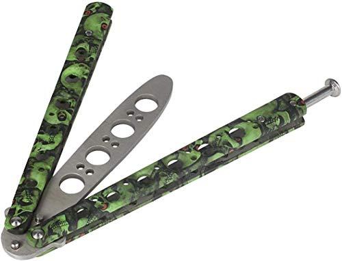 Andux Zone Coltello a Farfalla Piegatura del Metallo Strumento Practice Trainer, Strumento di Formazione CS/HDD08