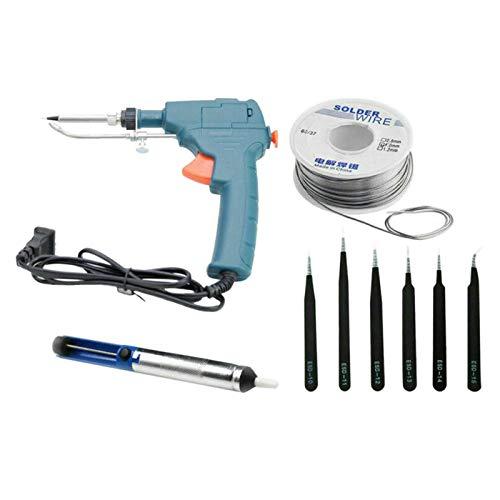 Fenteer 60W soldador eléctrico automático pistola de temperatura herramientas de soldadura para...