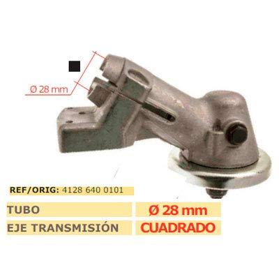 MARBEGARDEN Codo transmision desbrozadora STIHL FS 450 Cuadrado 28mm