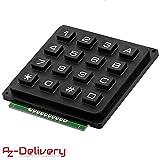 AZDelivery Modulo Teclado numerico de Matriz 4x4 keypad para Arduino con E-book incluido!