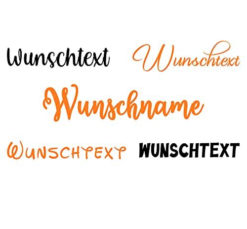 Bügelbild Wunschname für Textilien - Kinder Bügelbild Name Wunschtext selbst bedrucken. Bügelbilder selbst gestalten. Namensaufkleber Kleidung. Bügelfolie für Textilien. Namen zum aufbügeln