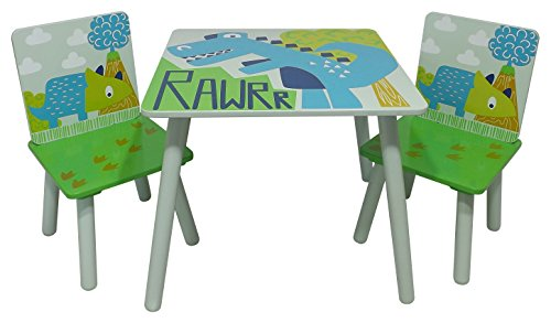 Kidsaw, Rawrr Table et 2 chaises