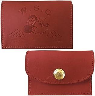 Workson WSCレザーカードケース H80mm×W110mm×D20mm ワイン