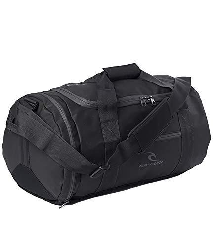 RIP CURL Medium Packable Duffle,Sac de Voyage de Taille Moyenne,Weekender,Sac de Sport,bandoulière,poignée de Transport,Black