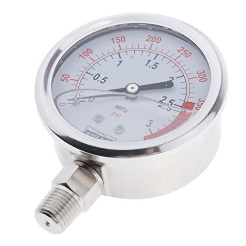 SDENSHI Druckanzeige Druckbehälter Manometer Radial, Durchmesser: 6,7 cm - wie beschreibung, 3MPa