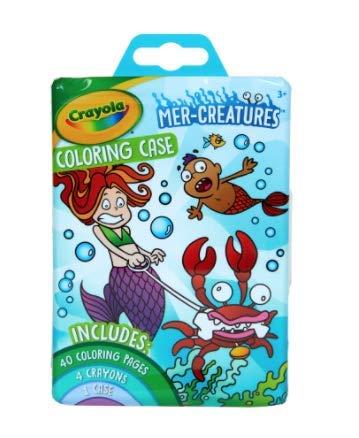 Crayola Mer-Creatures Coloring Case