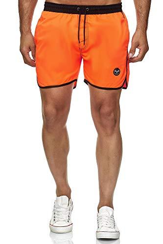 Kayhan Herren Badeshort Sport, Orange L