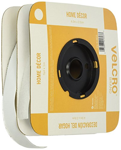 Velcro (R) Marque Attaches 1 x 15 Home Decor Ruban, Blanc