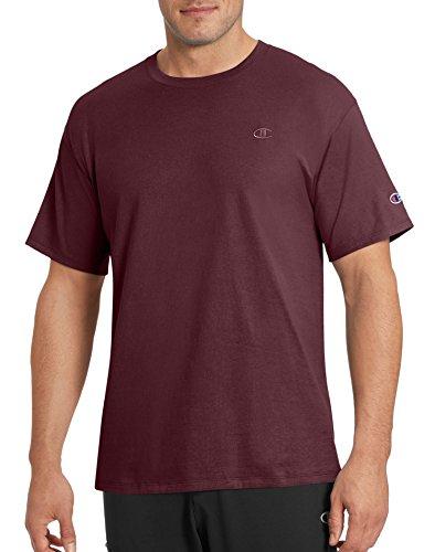 Champion Herren Classic Jersey T-Shirt Hemd, kastanienbraun, X-Groß