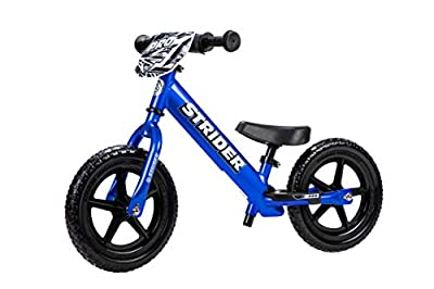 Strider - 12 Pro Balance Bike, Ages 18 Months to 5 Years, Blue