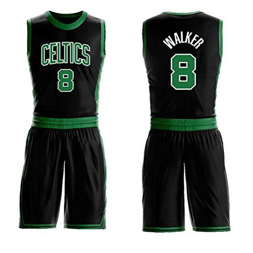 LAMBO Camiseta de Baloncesto de la NBA para Hombre Boston Celtics # 0 Jayson Tatum Mesh Camisetas sin Mangas Deportivas sin Mangas Bordadas Camisetas de fan/áticos