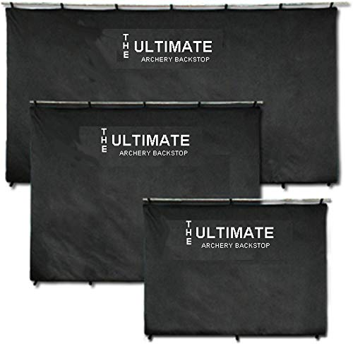 The Ultimate Archery BackStop Back Stop for Target Shooting (Black, 4'x6')