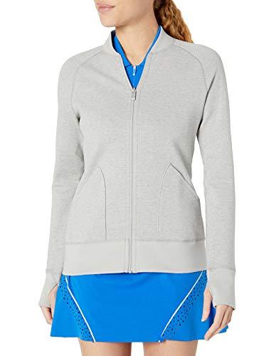 adidas Golf Veste réversible pour femme Gris métal Taille XS