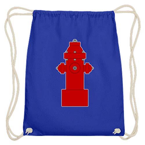 SPIRITSHIRTSHOP - Grifo para bomberos, bomberos, agua, agua y agua, trabajo, trabajo de ensueño, color Azul real, tamaño 37cm-46cm