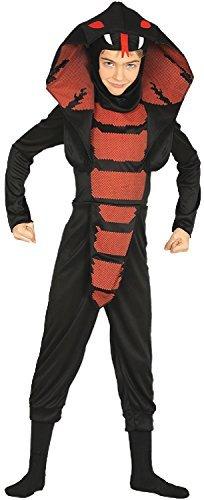 Fancy Me Jungen Mädchen Cobra Ninja Japan Schlange Halloween Horror unheimlich Kostüm Kleid Outfit 3-12 Jahre - 3-4 Years