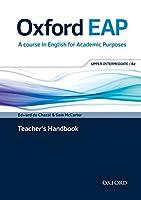 Oxford EAP: Upper-Intermediate/B2: Teacher's Book, DVD and Audio CD Pack