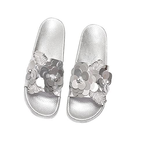 Fishoney Sandales Plates à Bout Ouvert pour Femmes,Sandale Femme ete,Sandales Femme t,Femmes Sandales été 2021 Femmes Chaussures Femme Peep-Toe Sandales Confortables Sandales Plates Femme Sandalias