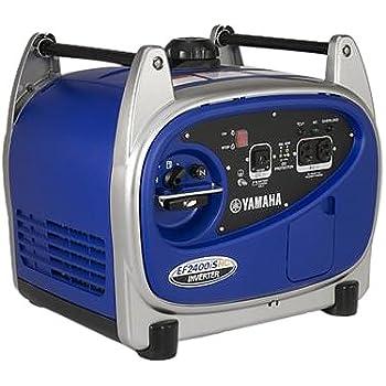 Yamaha EF2400iSHC, 2000 Running Watts/2400 Starting Watts, Gas Powered Portable Inverter