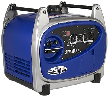 The Yamaha EF2400iSHC portable inverter generator