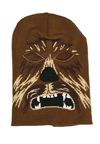 Star Wars CHEWBACCA Character Knitted SKI MASK Beanie Hat