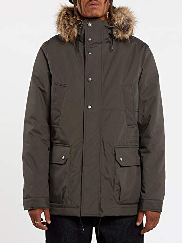 Volcom Lidward 5K Jacket Chaqueta, Hombre, Lead, M